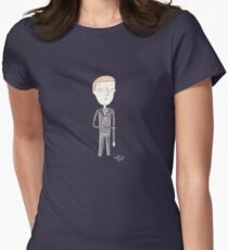 Doctor Who - Please Please Please Let Me Get What I Want Womens Fitted T-Shirt