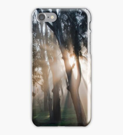 Fog Rays iPhone Case/Skin
