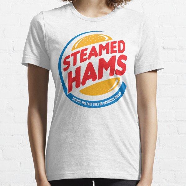Gedämpfte Schinken Essential T-Shirt