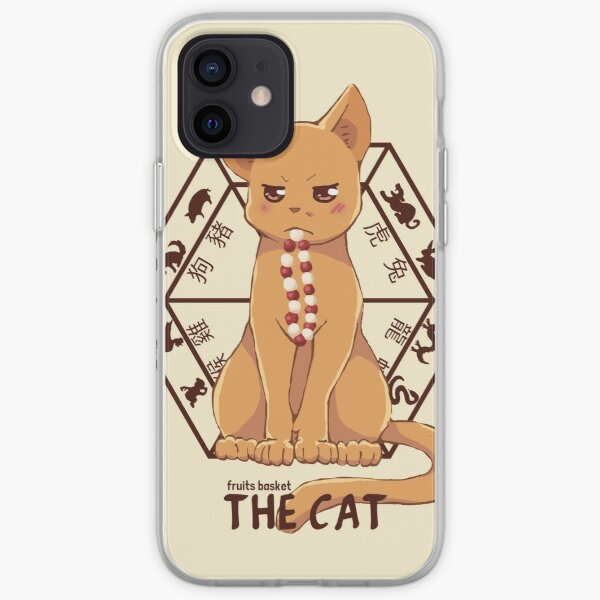 Kyo the cat iPhone Soft Case