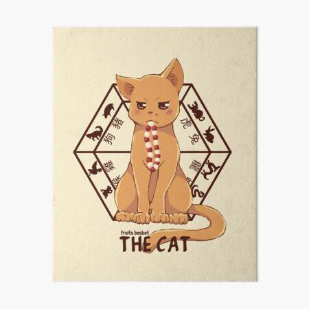 Kyo the cat Art Board Print