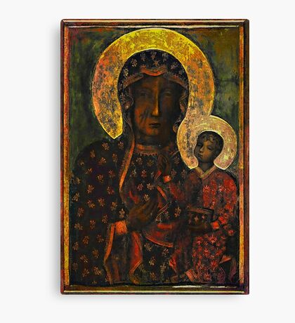 The Black Madonna Canvas Print