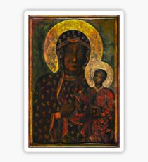 The Black Madonna Sticker