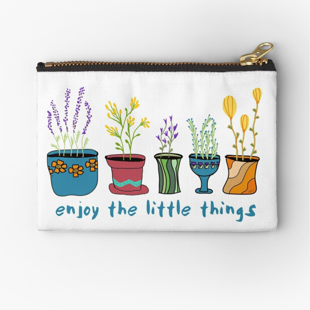 Simple Things Zipper Pouch