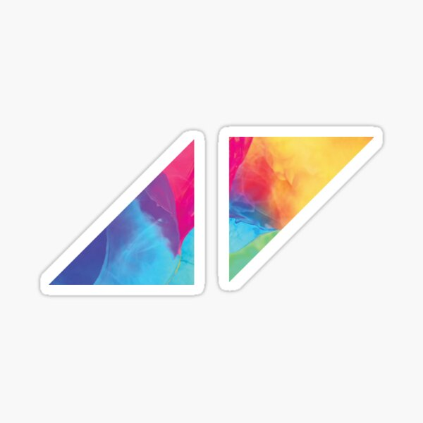 Avicii Logo Sticker