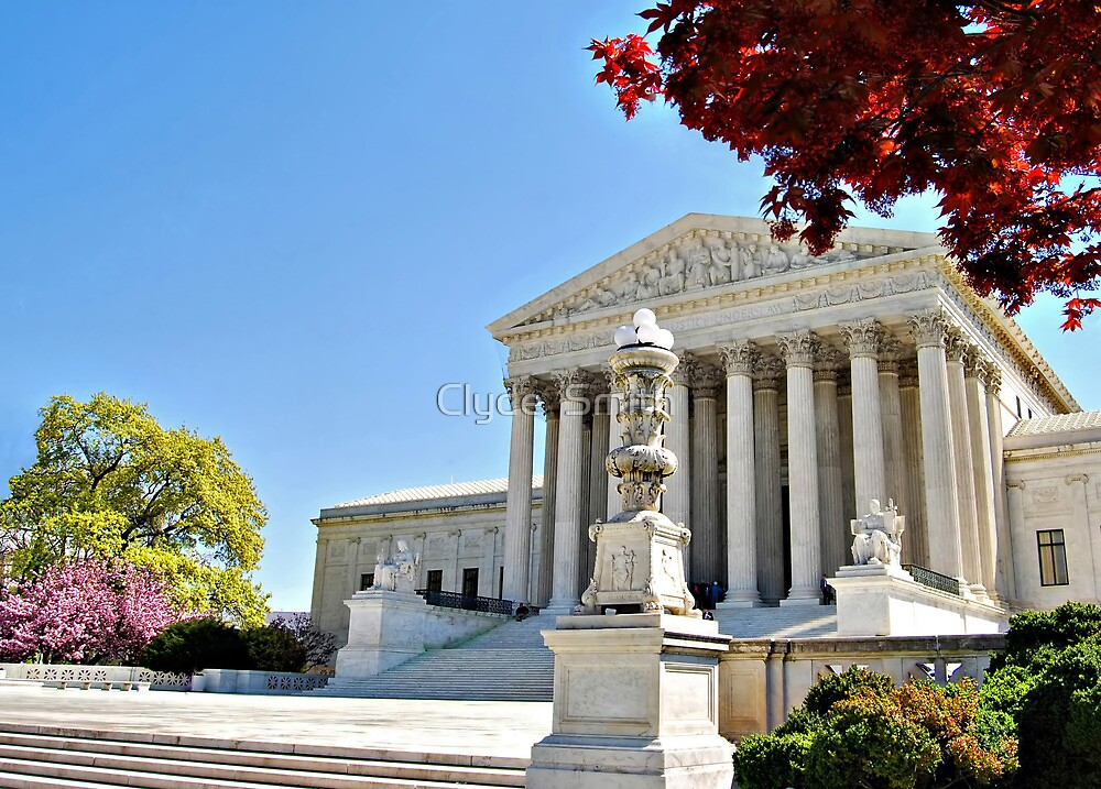 The Supreme Court in Maple and Cherry  by Clyde  Smith