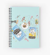 Messy desk Spiral Notebook