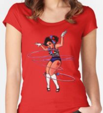 Hula Hoopla Women's Fitted Scoop T-Shirt