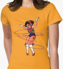 Hula Hoopla Womens Fitted T-Shirt