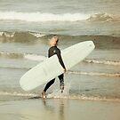 Surfer Geck von autumnseasphoto