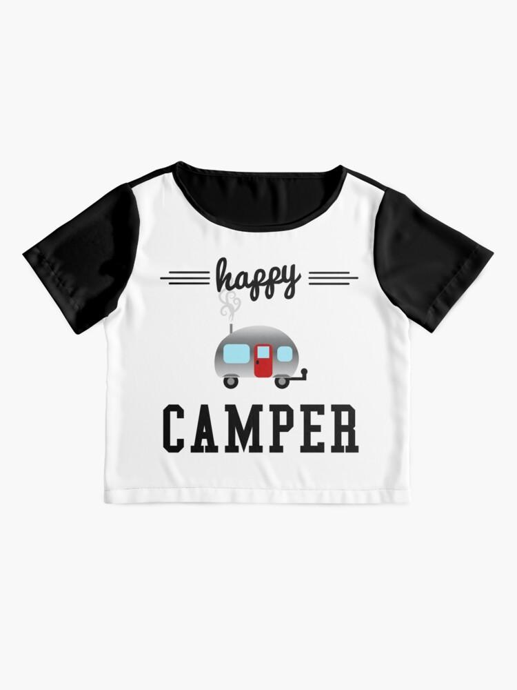Alternative Ansicht von Glücklicher Camper Chiffon Top