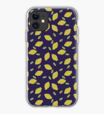 Lemons and leaves iPhone Case