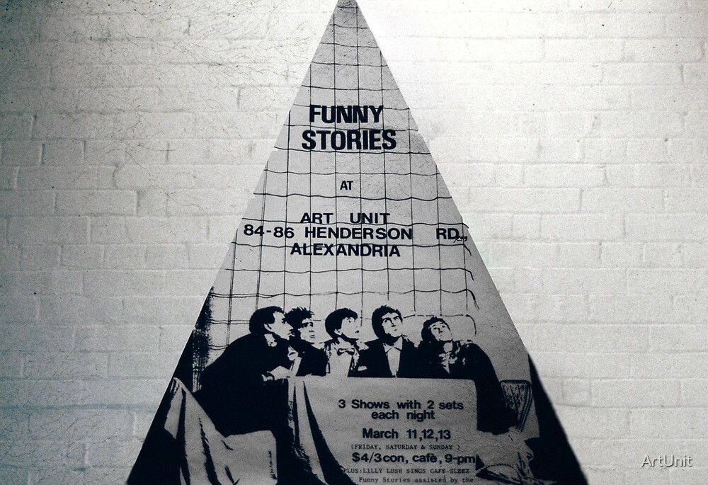 Funny Stories poster by ArtUnit
