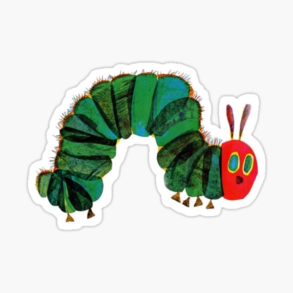 The Very Hungry Caterpillar -- see my page for more! Sticker
