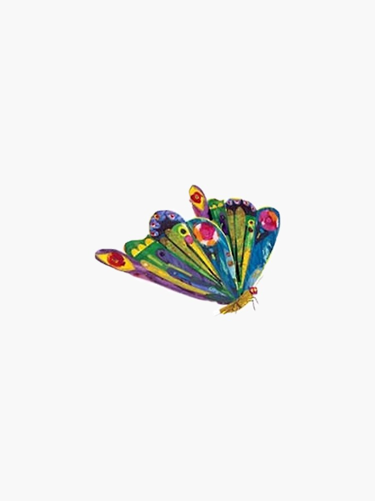 The very hungry caterpillar turned butterfly by madelinepaul99