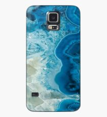 Kristallisiert Hülle & Klebefolie für Samsung Galaxy