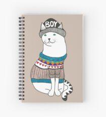 Boycat Spiral Notebook