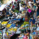 Floating Market, Thailand by Tim Topping