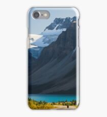 Riding the Icefields Parkway iPhone Case/Skin