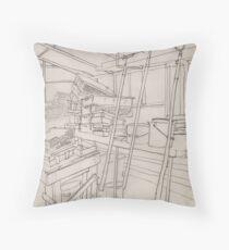 GartenArbeit Throw Pillow