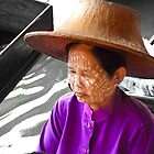 Thai Market Trader by Tim Topping