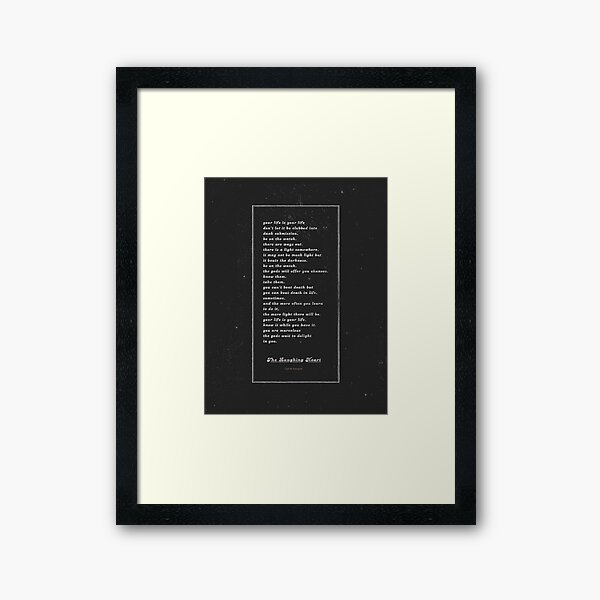 The Laughing Heart II Framed Art Print