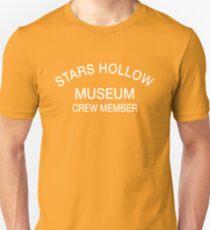 Stars Hollow Museum Crew Member t-shirt – Gilmore Girls, Lorelai, Rory, Taylor Doose, Luke Danes T-Shirt