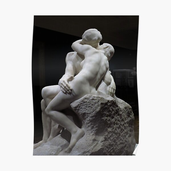 Rodin - The Kiss Poster