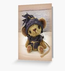 Magnus Mouse - Handmade bears from Teddy Bear Orphans Greeting Card