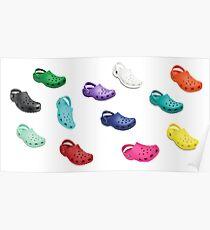 Crocs Sticker Pack - 12 Pack Poster