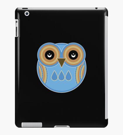 Blue Owl iPad Case/Skin