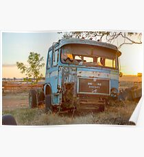 The Old MAN Truck........  Poster