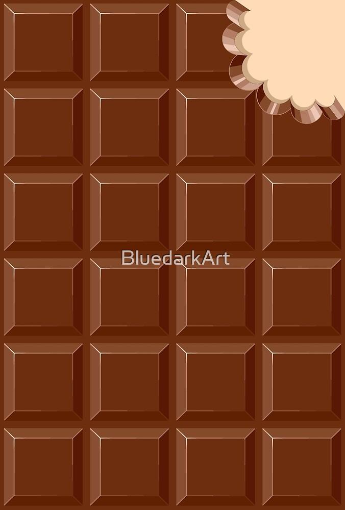 Chocolate Sweet Bar Pattern by BluedarkArt