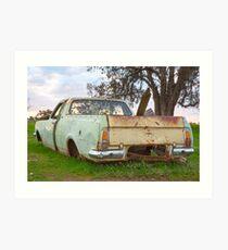The Old Holden Ute..... Art Print