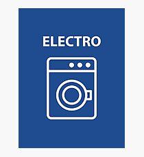 ELECTRO Photographic Print
