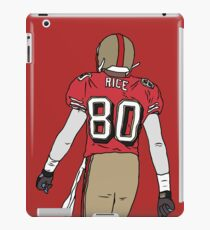 Jerry Rice Back-To iPad Case/Skin
