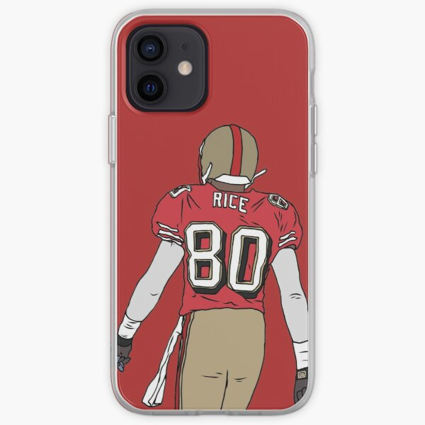 Jerry Rice Back-To Coque souple iPhone