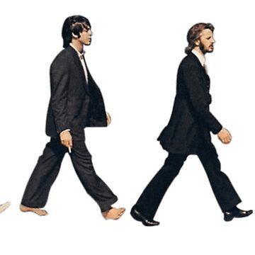 die Beatles Abby Road von hlncxiiiv