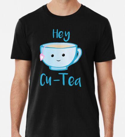Hey Cu-tea Shirt - Tea Pun Premium T-Shirt