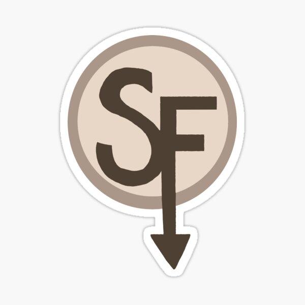 Sanitys caen logo Pegatina