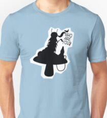 Caterpillar - Who Are You? Ver. 2 (Alice In Wonderland) T-Shirt