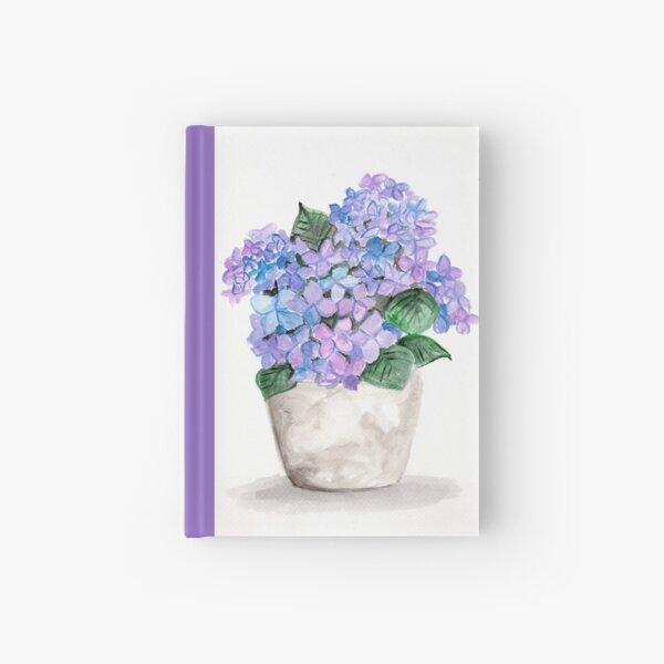 Hydrangea Hues Hardcover Journal