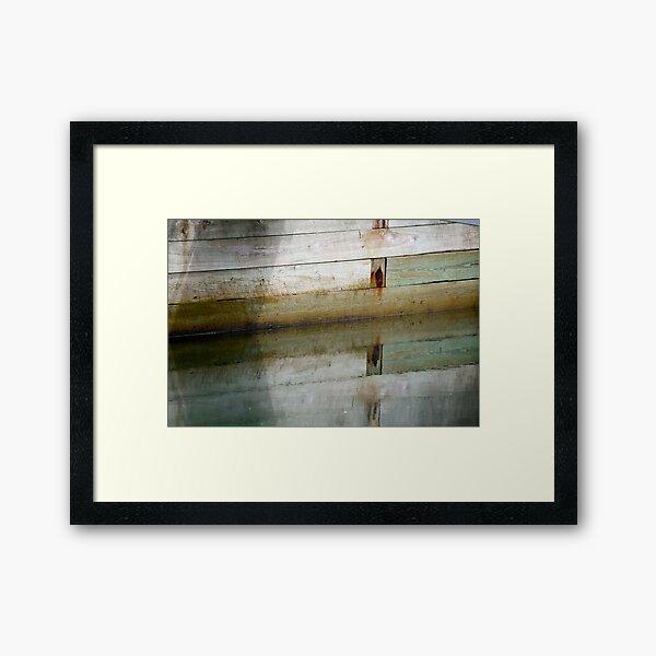 Wet & Dry Framed Art Print