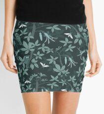 Baobab pattern dark Mini Skirt