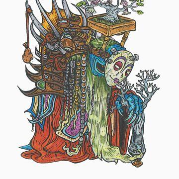 Bonsai monk by bengus