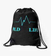 Wild Life Drawstring Bag