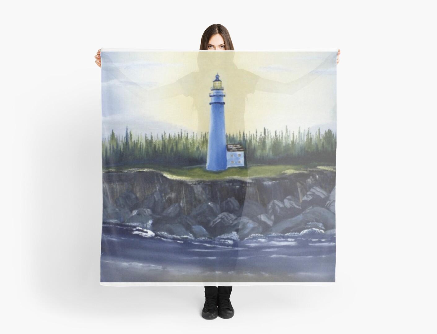 Evening Lighthouse by TachyonDream