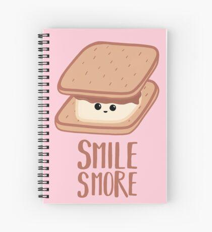 SMORE - SMILE T Shirt - Smores - Design Gifts Spiral Notebook