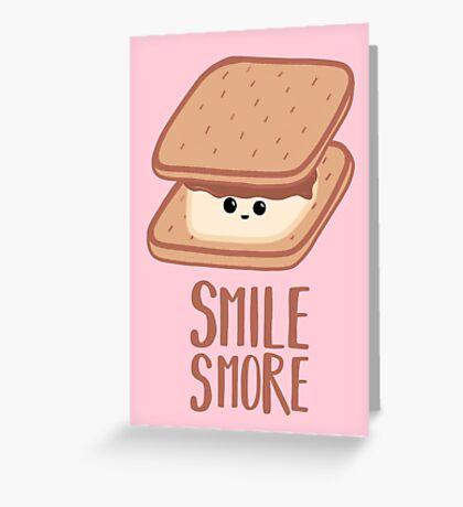SMORE - SMILE T Shirt - Smores - Design Gifts Greeting Card
