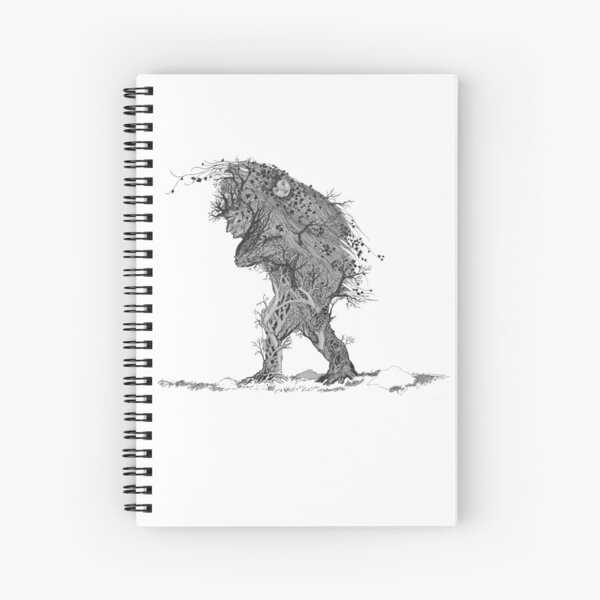 Mother of Ivy Spiral Notebook